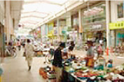 本町商店街の風景